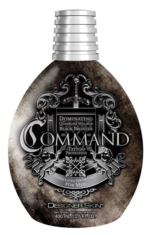 Designer Skin Command Dominating Quadruple Malabar Black Bronzer Tanning Lotion