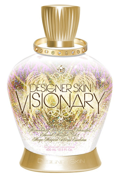 Designer Skin Visionary Miraculously Dark Tanning Intensifier Mega Magical Silicone Emulsion Tanning Lotion