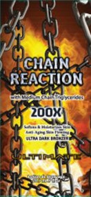 Ultimate Chain Reaction with Medium Chain Triglycerides Tanning Lotion Packet