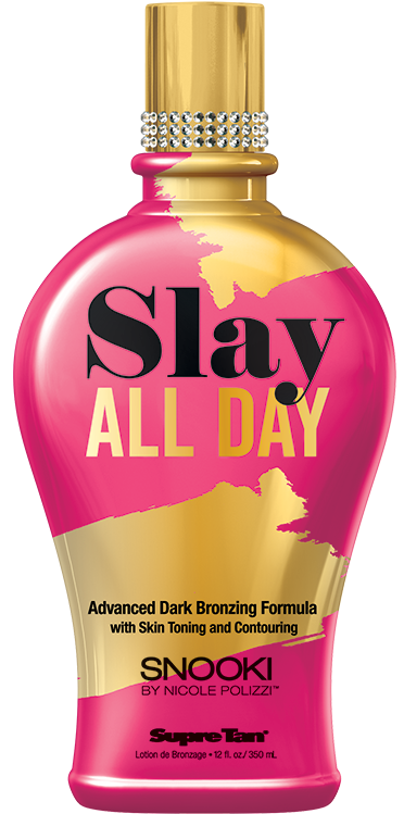 Supre Tan Snooki Slay All Day Advanced Dark Bronzing Formula Tanning Lotion