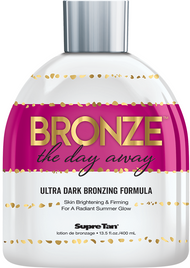 Supre Tan Bronze the Day Away Ultra Dark Bronzing Formula Tanning Lotion