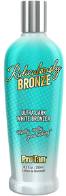 Pro Tan Ridiculously Bronze Ultra Dark White Bronzer Tanning Lotion
