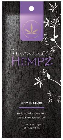 Hempz Tanning Naturally Hempz DHA Bronzer Tanning Lotion Sample Packet