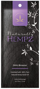 Hempz Tanning Naturally Hempz DHA Bronzer Tanning Lotion Sample Packet