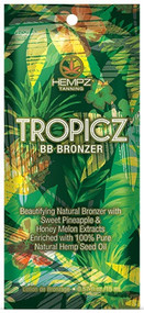 Hempz Tropicz BB Bronzer Tanning Lotion Sample Packet