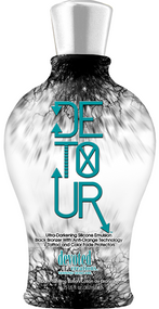 Devoted Creations Detour Ultra-Darkening Silicone Emulsion Black Bronzer Tanning Lotion