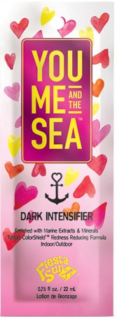 Fiesta Sun You Me and the Sea Dark Intensifier Tanning Lotion Sample Packet