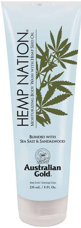 Australian Gold Hemp Nation Sea Salt & Sandalwood Moisturizing Body Wash with Hemp Seed Oil
