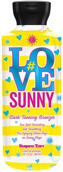 Supre Tan #Love Sunny Dark Bronzer Sun Spot Correcting Tanning Lotion