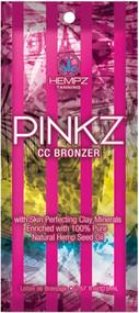 Hempz Pinkz CC Bronzer Tanning Lotion Sample Packet