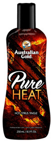 Australian Gold Pure Heat Hot Citrus Tingle Tanning Lotion