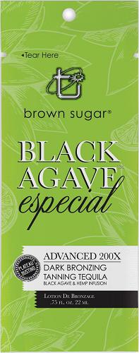 Brown Sugar Black Agave Especial Advanced 200X Dark Bronzing Tanning Tequila Sample Packet
