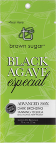 Brown Sugar Black Agave Especial Advanced 200X Dark Bronzing Tanning Tequila Sample Packet