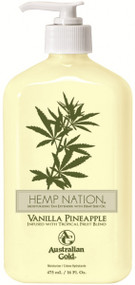 Australian Gold Hemp Nation Vanilla Pineapple Moisturizing Tan Extender