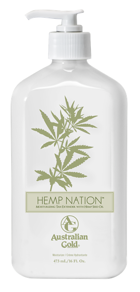 Australian Gold Hemp Nation Original Moisturizing Tan Extender with Hemp Seed Oil