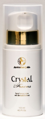 Australian Gold Crystal Faces Facial Tanning Lotion with DermaDark Blend