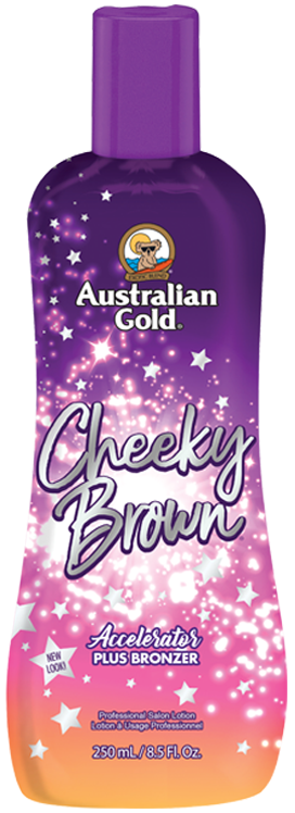 Australian Gold Cheeky Brown Accelerator plus Bronzers Tanning Lotion