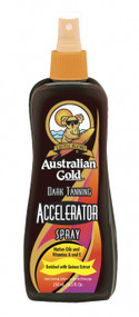Australian Gold Accelerator Spray Dark Tanning Accelerator Spray enriched with Quinoa Tanning Lotion