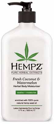 Hempz Fresh Coconut & Watermelon Herbal Body Moisturizer