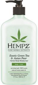 Hempz Exotic Green Tea & Asian Pear with Hemp Seed Oil Herbal Body Moisturizer