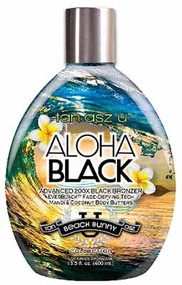 Tan Incorporated Tan Asz U Aloha Black Advanced 200X Black Bronzer Tanning Lotion