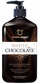 Brown Sugar White Chocolate Advanced Moisturizer for a Dark Tan
