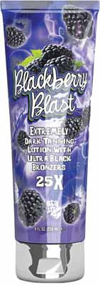 Fiesta Sun Blackberry Blast Extremely Dark Tanning Lotion with 25X Ultra Black Bronzers