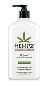 Hempz Original Herbal Body Moisturizer with 100% Pure Natural Hemp Seed Oil