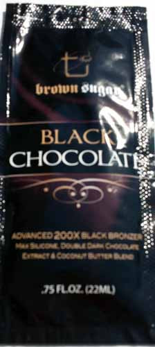 Brown Sugar Black Chocolate Packet