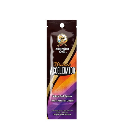 Australian Gold Bronze Accelerator Tanning Lotion Packet