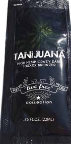 Brown Sugar Tanijuana Hemp Crazy Dark Tanning Lotion Packet