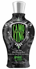 Devoted Creations Camo King Super Sleek Black Bronzing Custom Blend Tanning Lotion