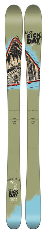 Line Sick Day Shorty junior skis