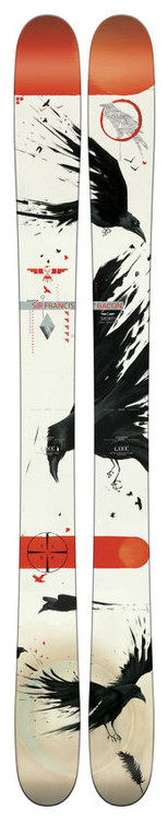 Line Sir Francis Bacon shorty junior skis