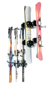 Monkey Bars Ski & Snowboard Garage Storage Rack