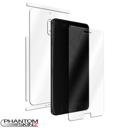 Nokia 6 self healing screen protection and full body skins by PhantomSkinz