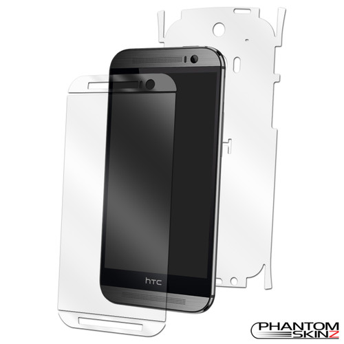 HTC One M8 Invisible Full Body Shield by PhantomSkinz