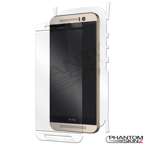 HTC One M9 full body protection by PhantomSkinz