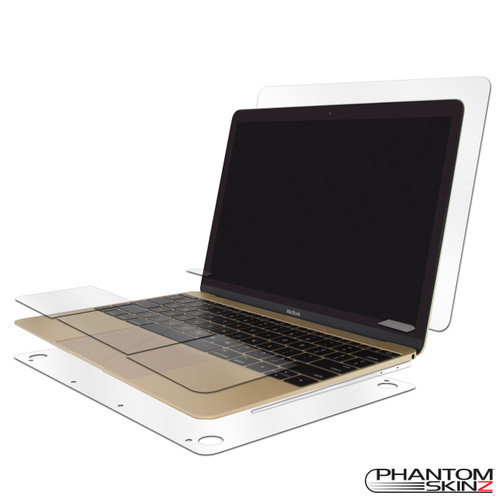 "Apple Macbook 12"" (2015-2016) Full Body Protection by PhantomSkinz"