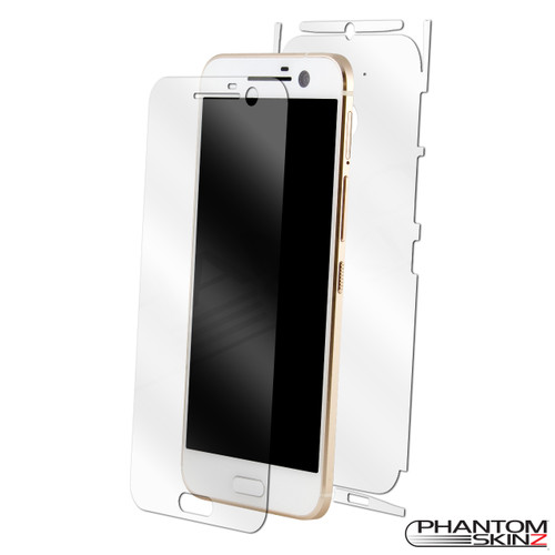 HTC 10 Screen Protector and Full Body Skin by PhantomSkinz