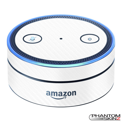 Carbon Fiber skins for the Amazon Echo Dot by PhantomSkinz