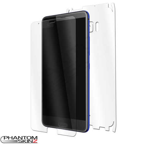 HTC U Ultra Self Healing Screen Protectors and Full Body Skins by PhantomSkinz