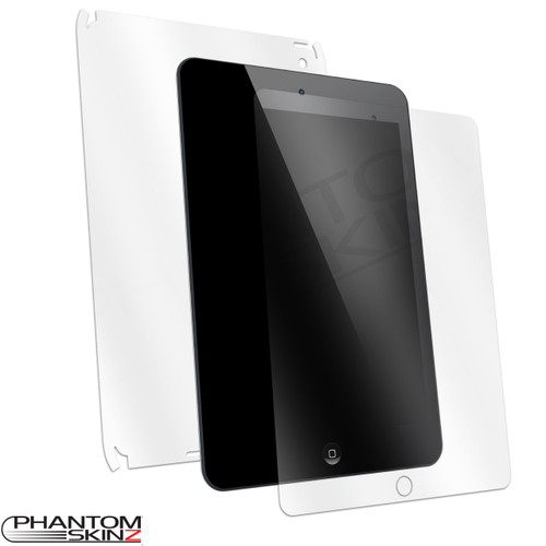 Apple iPad (2017) Clear Full Body Skin by PhantomSkinz