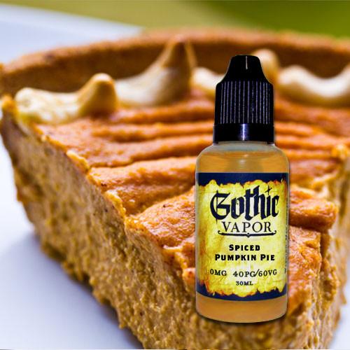 Pumpkin Pie eJuice by Gothic Vapor