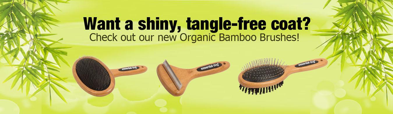 Bamboo Dog Grooming Brush