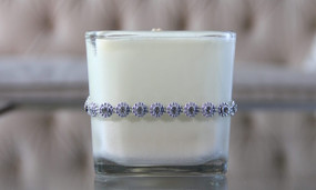 Large Butter Cream Candle