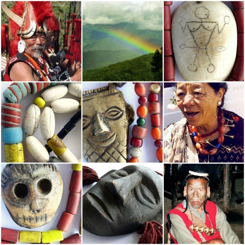 Beads from Nagaland - Happy Mango Beads