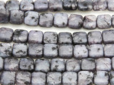 Lepidolite Square Tabular Gemstone Beads 8mm (GS815)