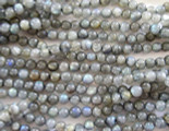 Labradorite Round Gemstone Beads 4mm (GS888)