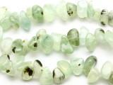 Prehnite Nugget Gemstone Beads 14-20mm (GS991)